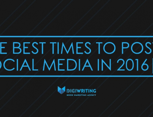 Social Media for Authors: The Best Times to Post