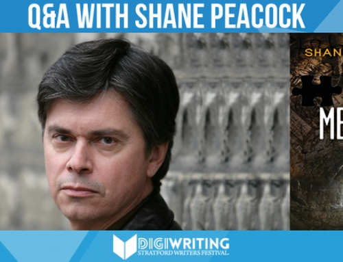 Stratford Writers Festival Author Shane Peacock on Series Writing, Crime Writing, & More!