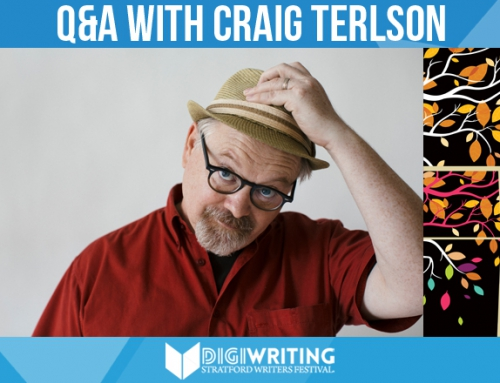 Q&A With Stratford Writers Festival Author Craig Terlson