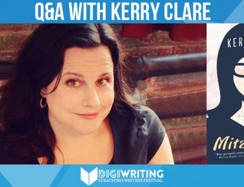 Q&A With Stratford Writers Festival Author Kerry Clare