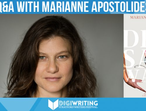Q&A With Stratford Writers Festival Author Marianne Apostolides