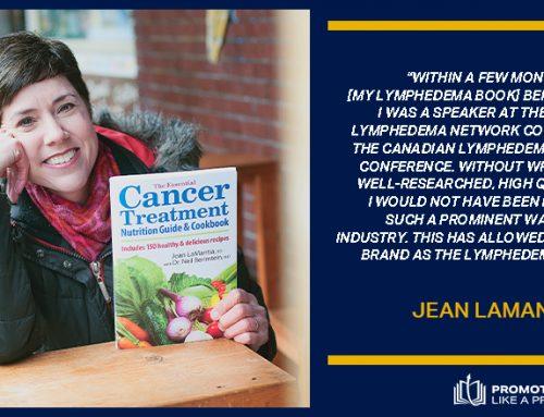How Book Promotion Built A Dietitian's Health & Wellness Brand