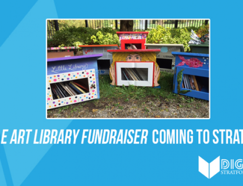 Little Art Library Fundraiser Coming To Stratford