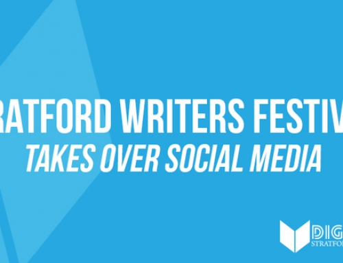 Stratford Writers Festival Takes Over Social Media