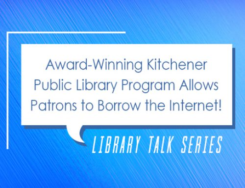 Library Talk: Borrow the Internet from the Library!