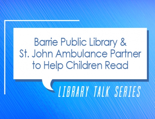 Library Talk: Paws 4 Stories