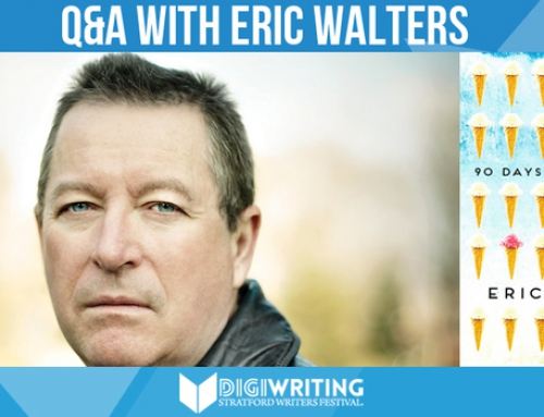 Eric Walters—the Lebron James of School Visits—Comes to the Stratford Writers Festival