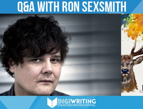 Stratford Writers Festival: Q&A With Ron Sexsmith