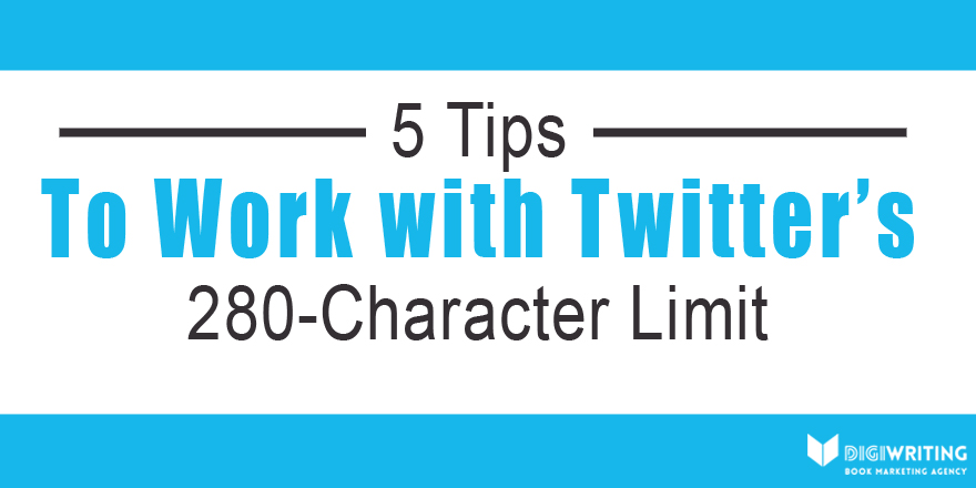 Social Media for Authors: Twitter's New Character Limit